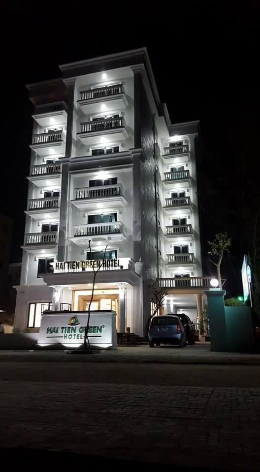 Khách sạn Hải Tiến Green Hotel độc đáo kiến trúc Á - Âu 1